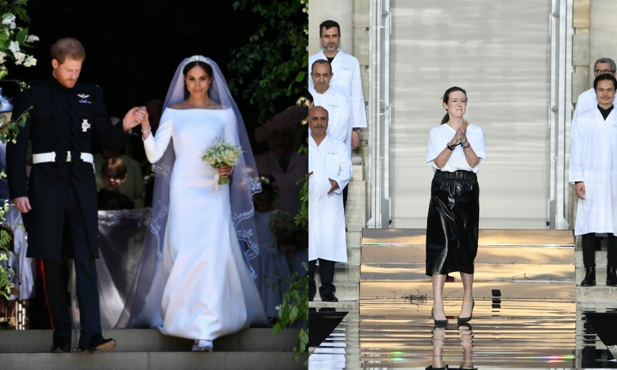 "It's safe to say that <b><a href=""https://us.hellomagazine.com/tags/1/meghan-markle/"">Meghan Markle</a></b> is in love with Givenchy. The Duchess of Sussex has been seen sporting countless pieces from the designer, famously opting to wear a custom dress by the brand's artistic director Clare Waight Keller for her royal wedding to <b><a href=""https://us.hellomagazine.com/tags/1/prince-harry/"">Prince Harry</a></b> in May. Over a month later, Clare presented a dazzling new Fall 2018 couture collection from the luxurious French fashion house during Paris Haute Couture Fashion Week on July 1 (seen here). Of course, we couldn't help but picture Meghan donning most of the sleek looks (and knowing her, she probably will). 