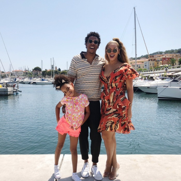 Bey-cation! It's no shock that Beyoncé and JAY-Z have enviable family vacations. While in the midst of their On the Run II tour, the music power couple took some time to sightsee in Cannes with their 6-year-old daughter Blue. On July 2, Beyoncé shared a series of Instagram photos and videos from the trio's picturesque trip, making us wish she'd pack us in her suitcase next time around.