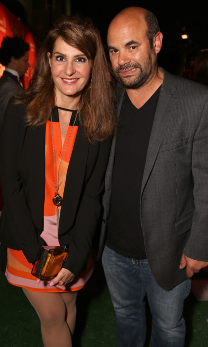 <b>Nia Vardalos and Ian Gomez</b>
