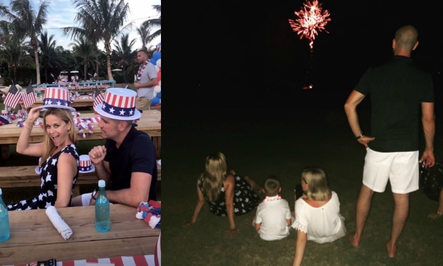 <b>Happy birthday, America! Despite Independence Day falling midweek, that didn't stop stars from celebrating. Scroll through to see how our favorite celebrities spent their July 4, 2018, and see which royal sent well-wishes to her American friends.</b>