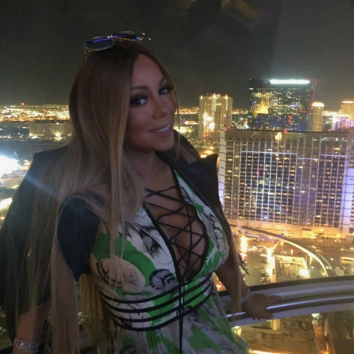 "Thursday, July 5 marked the opening of Mariah Carey's 2018 Las Vegas concert residency at Caesars Palace, titled: ""The Butterfly Returns."" The star had a celebratory week, taking to Instagram to share some of her fun moments: ""#Vegas nights,"" she wrote with this photo.