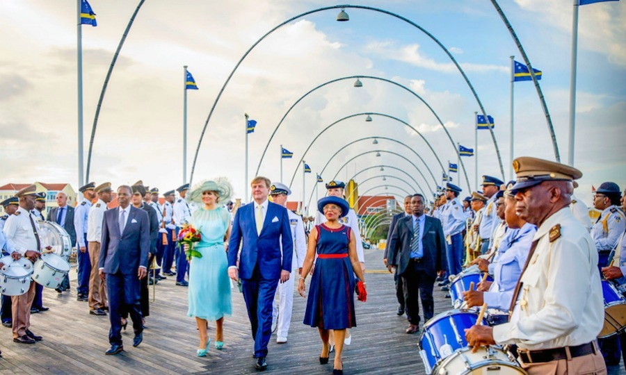 "King Willem-Alexander and Queen Maxima received a royal welcome to Curaçao for Dia di Bandera celebrations on July 2. The Dutch monarchs traveled to the Caribbean to mark the ""Day of the Flag"", which celebrates when the first island council of Curaçao met.