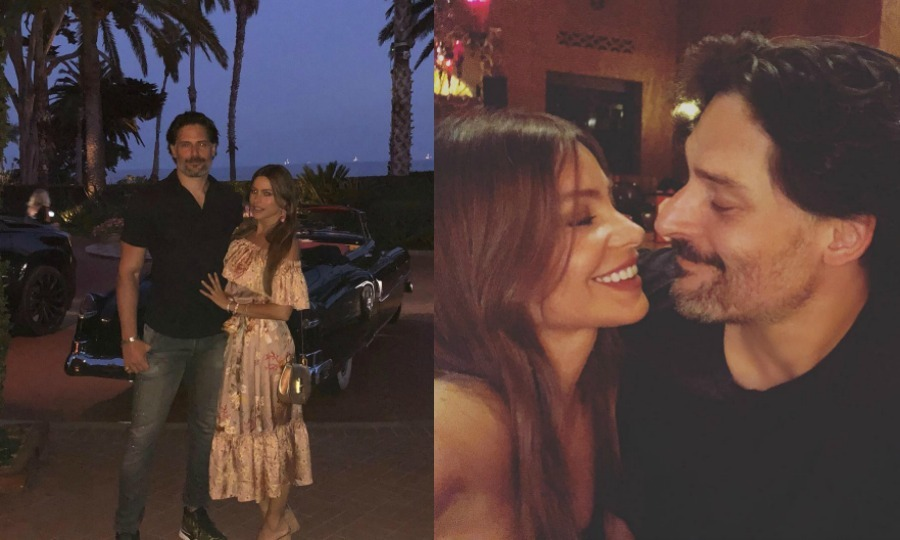 "Cute couple Sofia Vergara and Joe Manganiello had a sweet summer weekend. The <i>Modern Family</i> star shared some moments from their alone time to her Instagram. ""Summer weekend,"" the star wrote along with a heart emoji.
