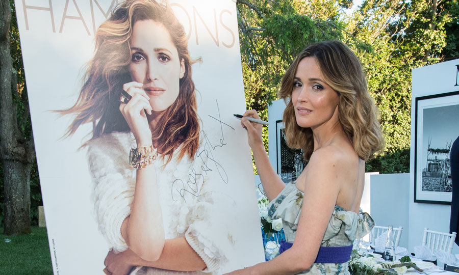 Rose Byrne was the lady of the hour at the Hamptons Magazine cover and Lalique celebration at the Southampton Social Club in partnership with Maddox Gallery.
