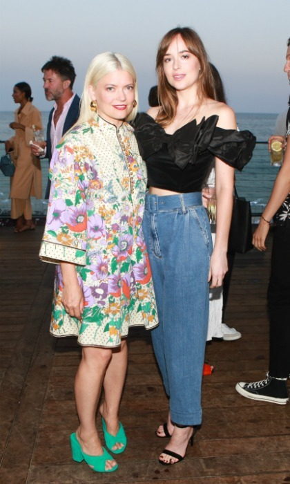 "Malibu lit up with stars like Dakota Johnson as Hollywood's reigning ""Most Powerful Stylist"" Kate Young (seen left) was celebrated at the 2nd Annual MAISON ST-GERMAIN, where she transformed Little Beach House Malibu into a whimsical, Parisian oasis.