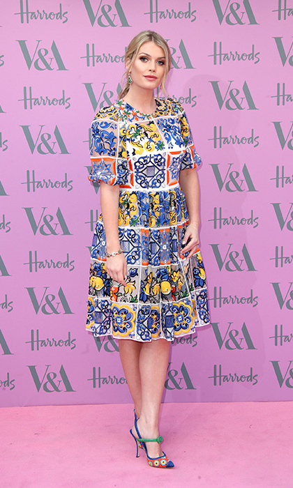 Nothing like some D&G at V&A! The beauty rocked her favorite designer from head-to-toe at the Victoria & Albert Summer Party on June 20, 2018 in London. 