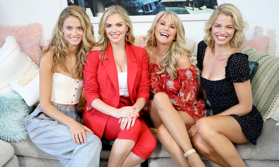 Kate Upton, who announced during her trip to Miami that she is expecting her first child with Justin Verlander, enjoyed a day out with some other blonde beauties: Kate Bock, Christie Brinkley and Hailey Clauson at the 2018 Sports Illustrated Swimsuit casting call at PARAISO during Miami Swim Week at The W Hotel South Beach.