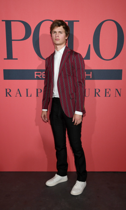 Ralph Lauren Fragrances hosted a party to celebrate the new face of Polo Red, actor and musician Ansel Elgort. The July 25th event, which took place at the exclusive Classic Car Club Manhattan, also marked the launch of the franchise's new fragrance, Polo Red Rush.
