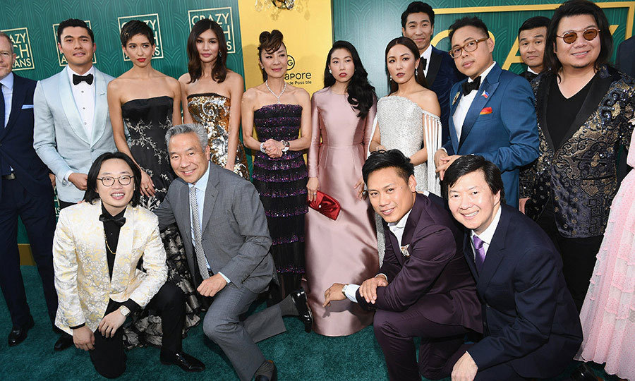 The cast of <i>Crazy Rich Asians</i> turned up the Old Hollywood glamour at the film's Los Angeles premiere at the TCL Chinese Theatre on Tuesday (Aug. 7)! Not only is the movie based on Kevin Kwan's beloved book series filled with luxe costumes and jaw-dropping settings, but it's also the first film to focus on an Asian-American cast in decades.  
