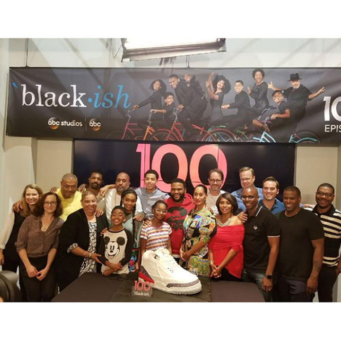 "<i>Blackish</i> celebrates a milestone. Anthony Anderson shared photos from the 100th episode celebration on set along with the caption: ""This all started as a dream and dreams do come true! Thank you to my entire cast and crew! This could not have happened without you! 100 episodes down 100 more to go!Thank you @disney @abcnetwork @kenyabarris love you brother! #godisgood #justakidfromcompton #blackish""