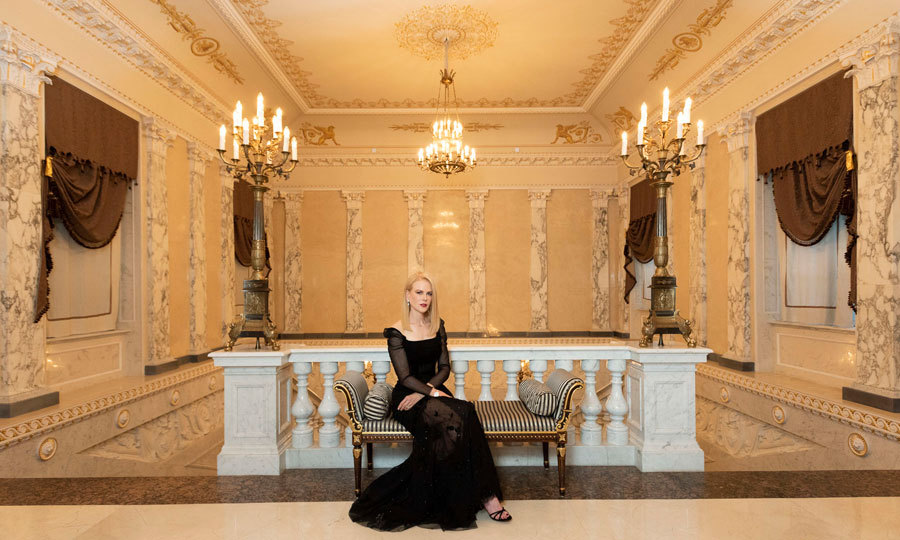 "Nicole Kidman's beauty added to the decor of the Marble Palace where she checked out OMEGA's ""Her Time"" exhibition in St. Petersburg, Russia. The <i>Big Little Lies</i> actress also revealed which film of hers are her and Keith Urban's daughters' favorite. ""I have three films coming out, but to my children, <i>Aquaman</i> is the most important film and the boys at (their) school are interested in me being in <i>Aquaman</i>, which to my daughter is really important right now,"" she shared. ""I said to her, I hope I'm in it. She said, 'I hope you're in it, I told everybody.'"" 