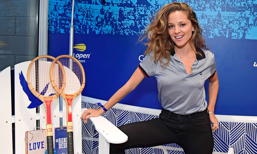 <i>The Deuce</i> star Margarita Levieva watched Serena Williams beat her older sister Venus from the Grey Goose Suite at the US Open, where the Honey Deuces were flowing.