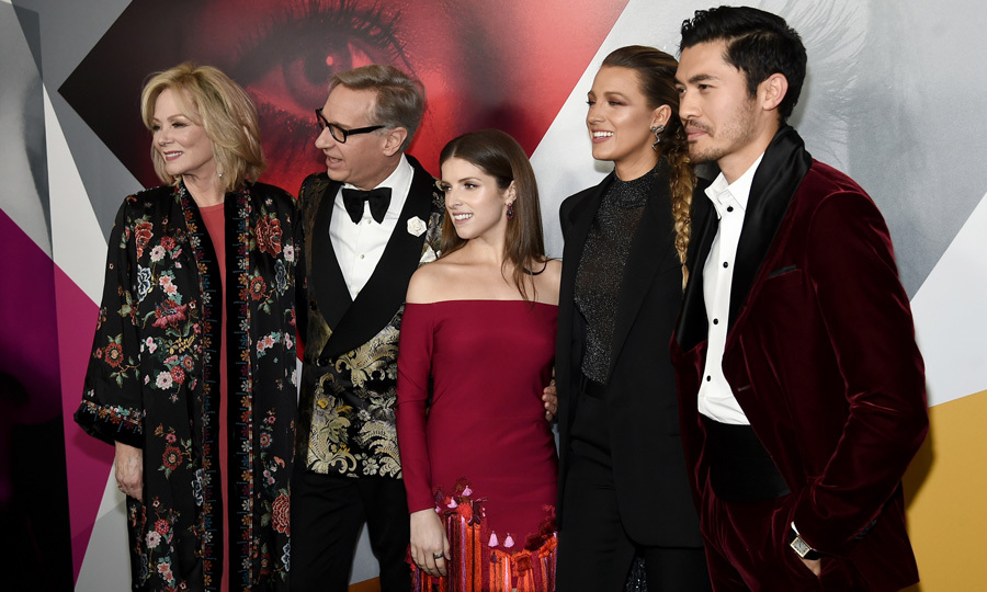 There was nothing simple about the cast of <i>A Simple Favor</i> at the NYC premiere. Jean Smart, director Paul Feig, Anna Kendrick, Blake Lively and Henry Golding were perfectly coordinated in their jewel tones.