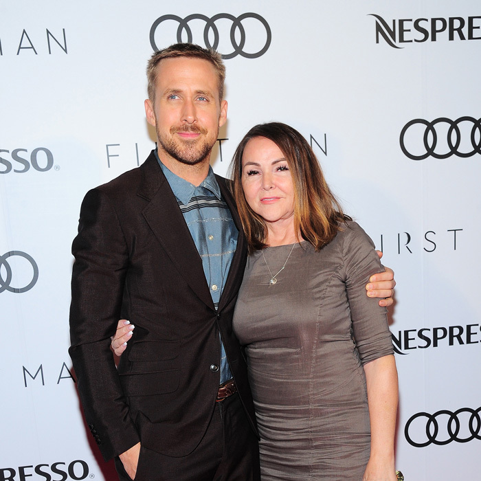 Ryan Gosling had the perfect date to the Audi Canada and Nespresso co-hosted party for <i>First Man</i> during TIFF in Toronto.