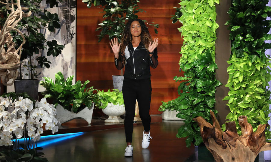 "Naomi Osaka visited <i>The Ellen DeGeneres Show</i> where she shared her thoughts on defeating Serena Williams at the US Open and what Serena whispered in her ear after the match. ""In my mind, I just really wanted to know what was going on,"" the 20-year-old said ""I hear a lot of people in the crowd making noises, and I really wanted to turn around. But I didn't."" 