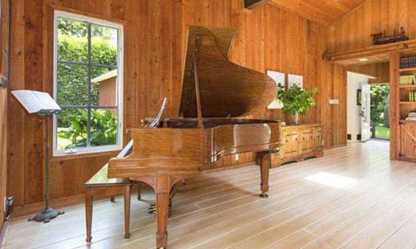 Should Robert and Cheryl desire a grand piano, there is more than enough room for one in their new home. (Image: MLS)